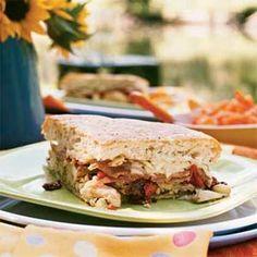 Antipasto Chicken Sandwich   MyRecipes.com