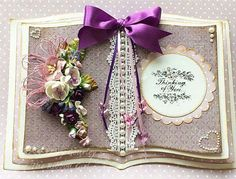 Open Book Card by Mary Gourley, using papers from MajaDesign's Enjoying Outdoors collection. Hobbies And Crafts, Crafts To Make, Crafters Companion Cards, Card Book, Paper Crafts, Card Crafts, Easel Cards, Paper Folding, Wedding Anniversary