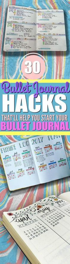 If you want to keep your life organized, then you should really check out these tips and ideas on how to start a bullet journal! With a bullet journal, I can now plan and keep track of all the upcoming events for the entire week in my weekly logs, the ent Bullet Journal Book, Bullet Journal Banners, Bullet Journal Hacks, Bullet Journal Layout, Bullet Journals, Beginner Bullet Journal, Bullet Journal How To Start A Simple, My Journal, Art Journals
