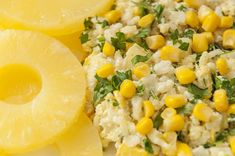Risotto, Cantaloupe, Salads, Lunch, Fruit, Ethnic Recipes, Food, Pineapple, Eat Lunch