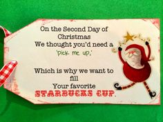 Marci Coombs: 12 Days of Christmas for Teachers.