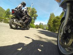 Yamaha FJR's.  Shot with GoPro Hero 3 Black.  Photo by Jason Moore.