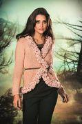 Receitas Círculo - Casaco Alongado - Trench Coat Lã Seda