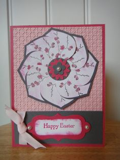 easter blossoms stampin up