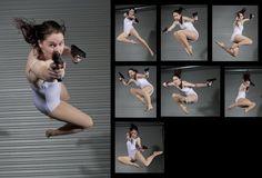 Female Gun Pack 2 - Pose Reference by *SenshiStock on deviantART