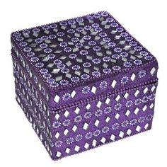 jewelry box, womens jewelry box, small jewelry box, small jewelry gift box, jewelry box small, purple jewelry box