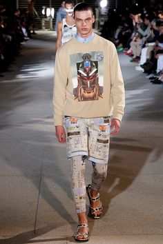 Brian Edward Millett - The Man of Style - Givenchy spring 2014