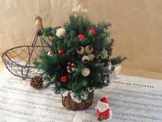 カントリー風 小さなクリスマスツリー