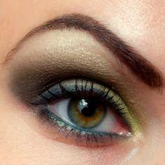Magic Forrest - green eye make-up