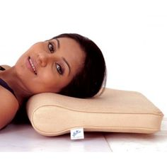 Flamingo Cervical Pillow provides firm, soft and comfortable support to neck and head.