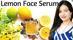DIY Skin Lighting Serum for Acne Scars & Hyperpigmantation   DIY Lemon (Vitamin C) Face Serum   AVNI #TumericForAcne #TumericLightening #DailyFaceCare Tumeric For Acne, Tumeric Face, Lemon Vitamin C, Vitamin C Face Serum, Lemon On Face, Tea Tree Oil For Acne, Acne Face Mask, Flaky Skin