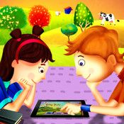 Story Time for Kids: Story Time is an interactive story telling app that is bundled with illustrated story books for children. Each story has illustrations, narrations and sound effects! All the stories highlight the text as its read along.