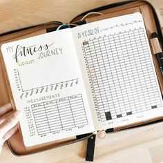 7 ways to lose weight with your bullet journal. Find out how with spreads such as weight loss trackers, measurement trackers and more! planner bullet 7 Simple Ways to Lose Weight Using Your Bullet Journal Bullet Journal Tracker, Bullet Journal Spread, Bullet Journal Ideas Pages, Bullet Journal Inspiration, Journal Pages, Bullet Journals, Bullet Journal Health, Bullet Journal Workout, Bullet Journal 2019