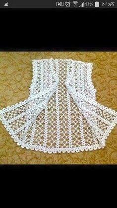 Tig isi yelek [] # # #Cro |  Crochet