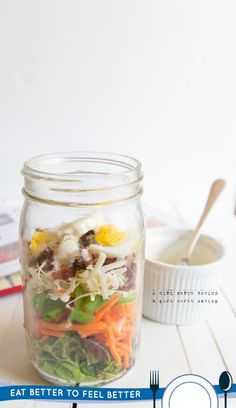 Low-FODMAP 7-Layer Salad // AGirlWorthSaving.net