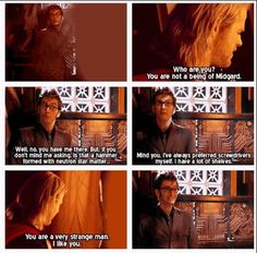 What happens when Thor meets the Doctor.