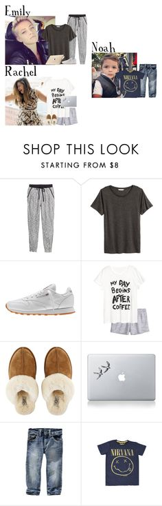 """Friday // Noah's Day w/Grandparents & Working From Home // 1/6/17"" by graywolf499 ❤ liked on Polyvore featuring Reebok, H&M, UGG, Vinyl Revolution and Gap"