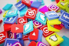 Social Media Marketing Companies, Viral Marketing, Social Media Logos, Social Media Content, Marketing Digital, Social Networks, Online Marketing, Marketing Ideas, Logo Maker Software