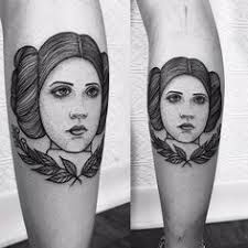 Princess Leia Tattoo 23