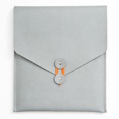 Envelope iPad Case. Polyurethane, comes in 4 colors, for sale at Poketo.