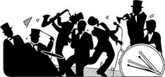 Image result for band silhouettes