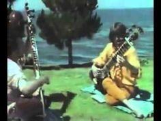 Ravi Shankar & George Harrison -  Sitar Lesson Rare Video [ Live Performance ]