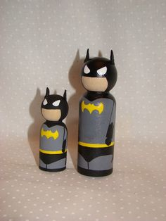 *Gasp*  Superhero cake toppers...