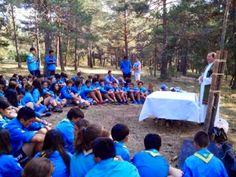 Escuelas Viatorianas Evangelizadoras . QUERBES  (EVE.Q): MOVIMIENTO SCOUT CATÓLICO: CAMPOREE14