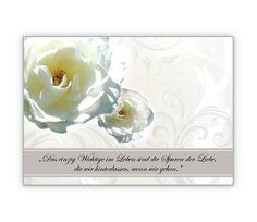 Trauerkarte mit Rosen und Beileidsspruch - http://www.1agrusskarten.de/shop/trauerkarte-mit-rosen-und-beileidsspruch/    00014_0_977, Abschied, Beileidskarte, gedenken,, Grußkarte, Klappkarte, trösten00014_0_977, Abschied, Beileidskarte, gedenken,, Grußkarte, Klappkarte, trösten