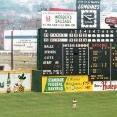 Crosley Field, 1961 World Series | Old Ballparks ...