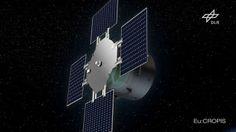 Zwei Mini-Gewächshäuser simulieren an Bord von Eu:CROPIS Mond- und Mars-Schwerkraft. Mehr dazu hier: http://www.nachrichten.at/nachrichten/weltspiegel/Paradiesaepfel-auf-der-Umlaufbahn;art17,1379321 (Bild: DLRt)