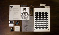 B/I for a Tattoo Shop LA TATUERIA  www.amen-studio.com