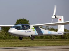 "The Airbus sponsored electric concept aircraft ""eGenius"""