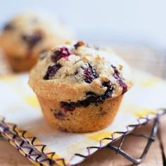 This is a delicious way to enjoy the best of the blueberry season. Ingredients: 1/2 cup & 2 TBS unbleached all purpose flour 1/2 cup sugar 1 1/2 TSP baking powder 1/2 TSP baking soda 1 TSP Kosh…