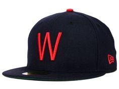 Washington Senators New Era MLB Cooperstown 59FIFTY Cap Hats