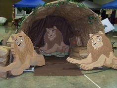 Daniel en el foso de leones