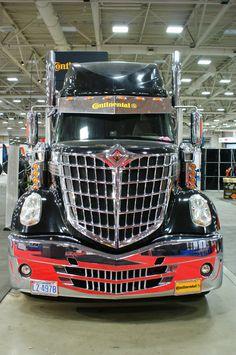 Untamed Innovation Tour Truck #Continental  #International #LoneStar