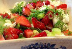 <p>Jordbærsalat</p>