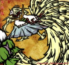 Demon Lord Ninetails - Gijinka by Aizle-Syracuse