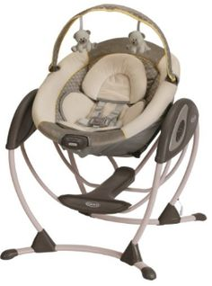 Buy Graco Glider LX Gliding Swing, Peyton with big discount! Only 9 days. Get Graco Glider LX Gliding Swing, Peyton with worldwide shipping now! Baby Swings And Bouncers, Baby Calm, Best Baby Shower Gifts, Baby Swimming, Babies R Us, Gliders, Baby Accessories, Baby Sleep, Baby Gear