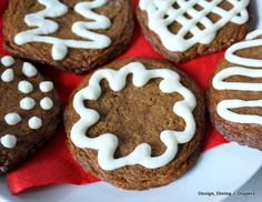 Here is my recipe for Gluten Free Frosted Ginger Cookies! They are perfect for the holidays and you won't be able to keep the top on the cookie jar.