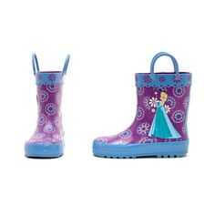 Free Shipping Frozen Disney, Kids Rain Boots, Rubber Rain Boots, Frozen Rain, Mickey Shoes, Elsa, Frozen Merchandise, Frozen Toys, London Shopping