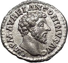 MARCUS AURELIUS Silver Ancient Roman Coin Forethought Providentia i55320