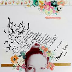 #papercrafting #scrapbook #layouts: Scrapbook inspiration by noemimounier at @Studio_Calico