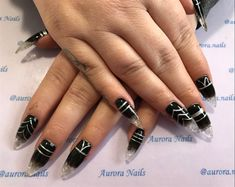 23 Elegant Nail Art Designs for Prom 2019 Ombre Nail Designs, Nail Art Designs, Matte Nails, Blue Nails, Elegant Nail Art, How To Cut Nails, Geometric Nail Art, Butterfly Nail, Trim Nails
