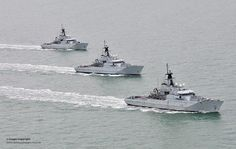 HMS Severn HMS Tyne and HMS Mersey on Fishery Protection Squadron Exercise | Flickr - Photo Sharing!