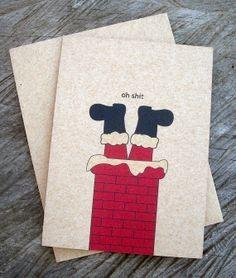 Items similar to Handmade Christmas card. Bulbs on Etsy Painted Christmas Cards, Watercolor Christmas Cards, Homemade Christmas Cards, Christmas Drawing, Funny Christmas Cards, Christmas Art, Christmas Humor, Handmade Christmas, Holiday Cards