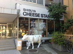 SHIBUYA CHEESE STAND (渋谷 チーズスタンド)  1F-5-8 Kamiyama-Cho, Shibuya-ku, Tokyo +81 (0)3 6407 9806 #Dinning #Cheese #Shibuya