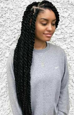 Box Braids Hairstyles, Marley Twist Hairstyles, Easy Hairstyles For Medium Hair, Protective Hairstyles, Black Women Hairstyles, Summer Hairstyles, Protective Styles, Hairstyle Ideas, Short Hairstyles