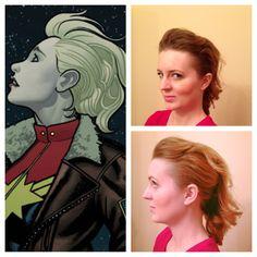 Carol Danvers hair